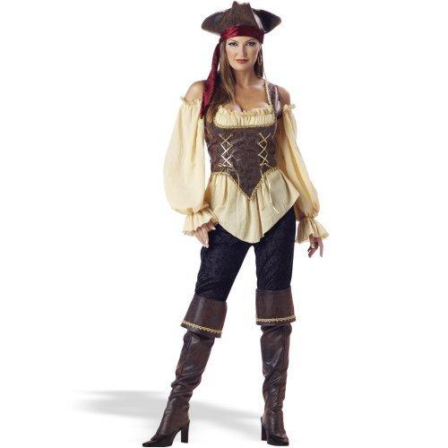 In Character Costumes Adult, Rustic Pirate Lady Elite Collection, 1X-Large drugstore.com