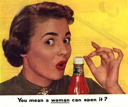 the role and oppression of females in advertising Women's role in advertisements the advertising trends began before the early 1900s until present time portray the role o females over time.